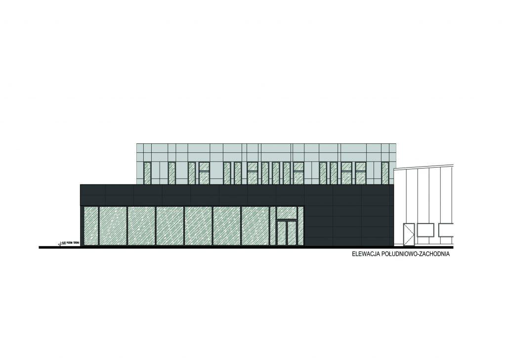 projekt budynku biurowego dla firmy Wojas